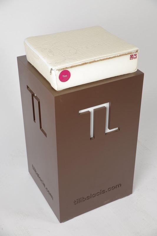 """TL matracis """"TINO"""" L1600xW700xH100 mm"""