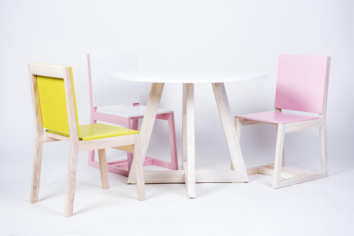 FAIRY TALE bērnu galds ar diviem krēsliem